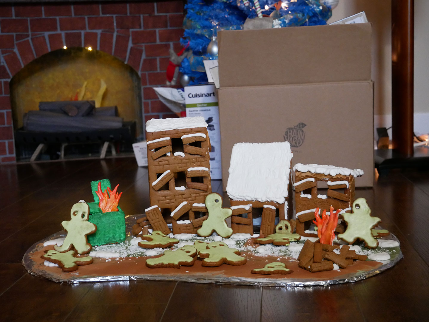 Gingerbread Zombie Apocalypse